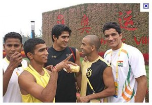 Indian Boxers at Asian Games