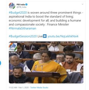 Budget 2020 : बजट में वित्तमंत्री ने किए ये बड़े ऐलान, निर्मला सीतारमण ने संसद में पढ़ी कविता तो जानिए क्या हुआ