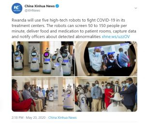 कोरोना से जंग के लिए मैदान में उतारे गए रोबोट, जांच से लेकर दवा पहुंचाने तक हर काम चुटकियों में करेंगे