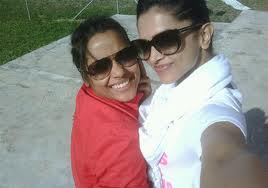 deepika and shahana