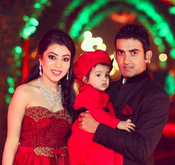 gautam ghambhir family