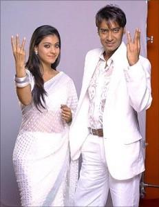 Kajol and Ajay Devgan