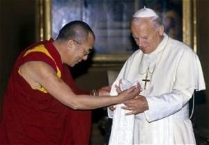 Dalia Lama and John Paul
