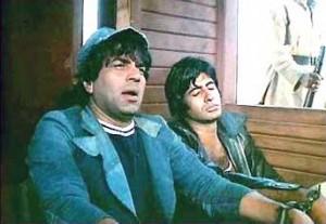 Amitabh-Bachchan-and-Dharmendra-in-Sholay