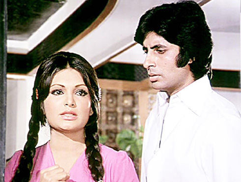 parveen and amitabh