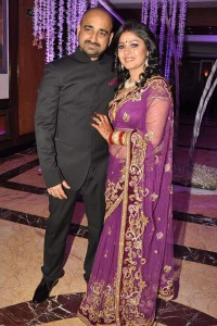 Sunidhi Chauhan and his husband