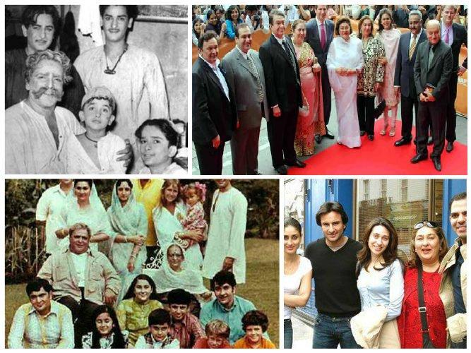 raj kapoor family