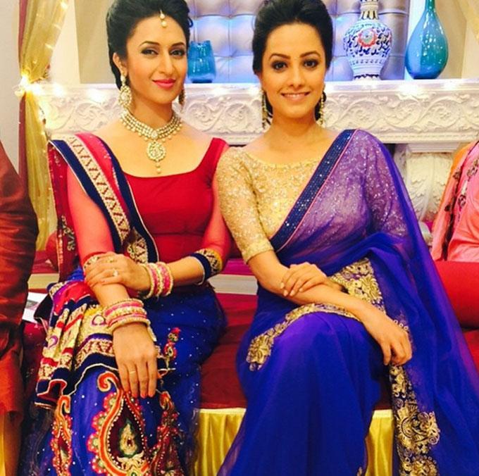 Anita Hsnandani and Divyanka Tripathi