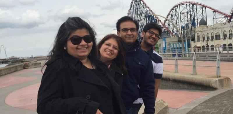 dilip-joshi family