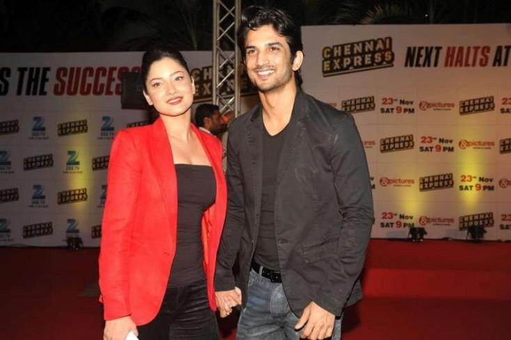 Ankita Lokhande and Sushant