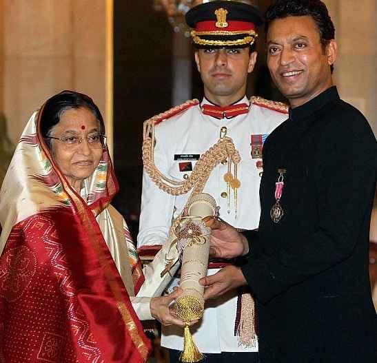 irrfan khan awarded by padma shri award