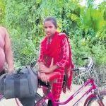साइकिल गर्ल ज्योति पर बनेगी फिल्म आत्मनिर्भर, लॉकडाउन में पिता को लेकर गुरुग्राम से बिहार पहुंची थीं