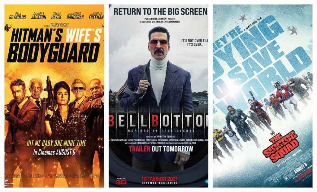 अगस्त में बड़े पर्दे पर देखिए ये फिल्में, द सुसाइड स्क्वॉड से अक्षय कुमार की बेलबॉटम तक