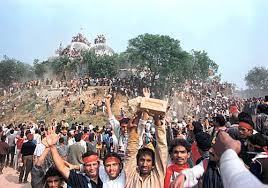 babri masjid demolition.