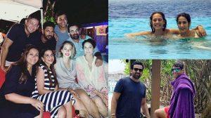 मालदीव में वेकेशन एन्जॉय कर रहे हैं भारतीय क्रिकेटर और उनकी पत्नियां, देखें खास तस्वीरें