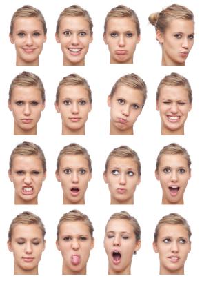 Samudrika Shastra Facial Expressions
