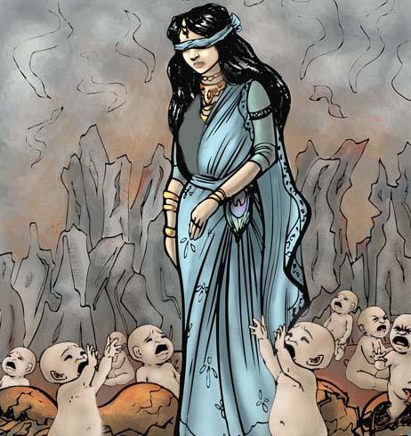 birth of kauravas
