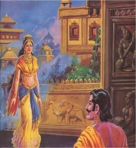 Arjuna and chitrangada