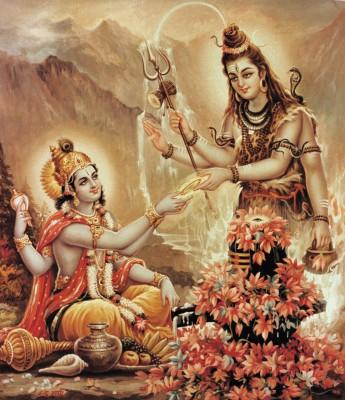 Shiva  Vishnu Sudarshan Chakra