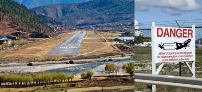 Bhutan Paro Airport