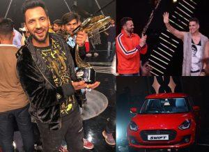 डांसर पुनीत पाठक बने 'खतरों के खिलाड़ी 9' के विजेता, जीते इतने लाख रुपए और महंगी कार