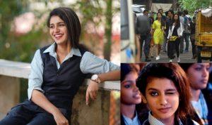 आंख मारकर दिवाना करने वाली प्रिया प्रकाश को एक विज्ञापन के लिए मिले इतने करोड़