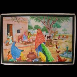 village-scenary-canvas-painting-250x250
