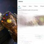 Avengers Endgame:  गूगल पर Thanos चुटकी में गायब कर रहा है सर्च रिजल्ट, आप खुद ट्राई करके देख लीजिए
