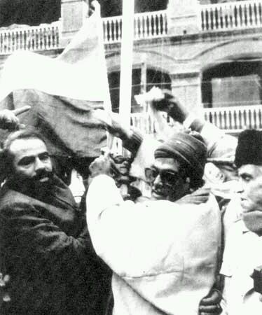 modi with flag