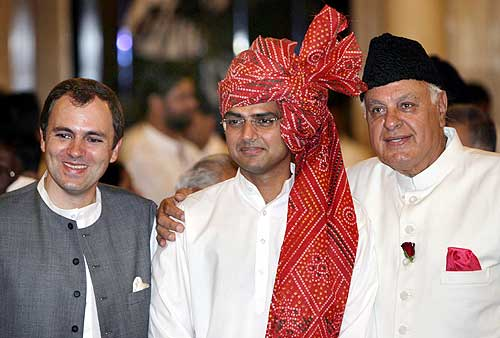 Sachin Pilot and J&K Chief Minister Omar