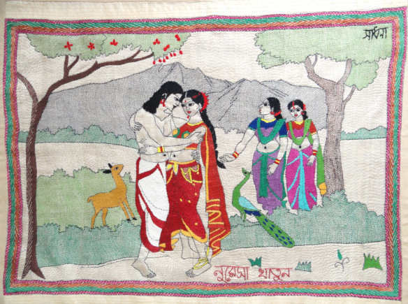 arjun and chitrangada