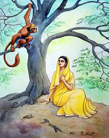 hanuman sita