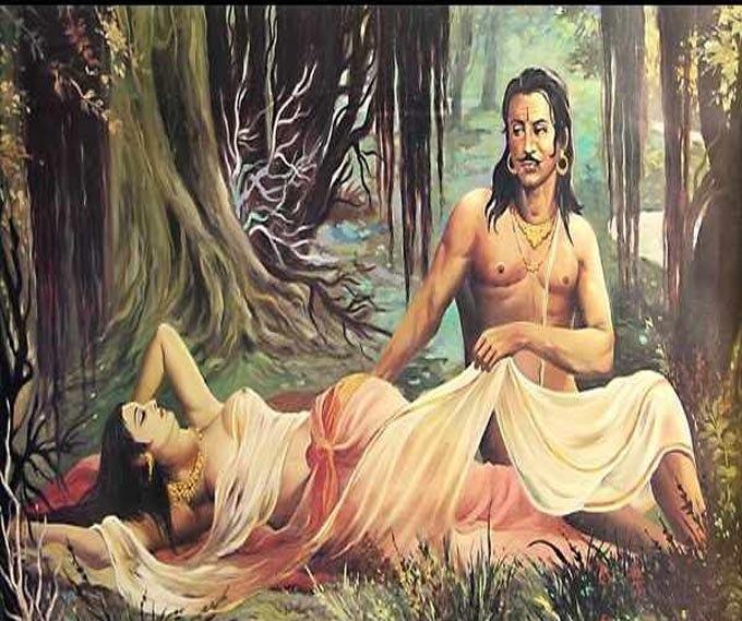 satyavati and parashar