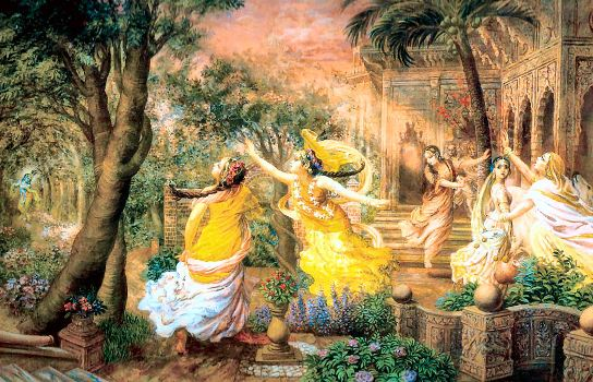 krishna and gopi