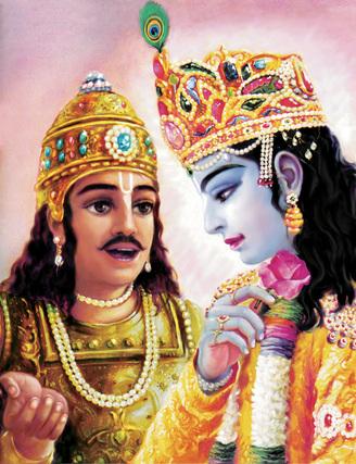 shri krishna and aravan