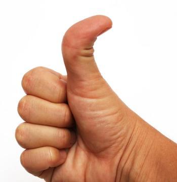 thumb shape