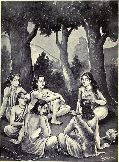 draupadi and pandav