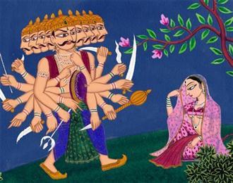 ravan and sita