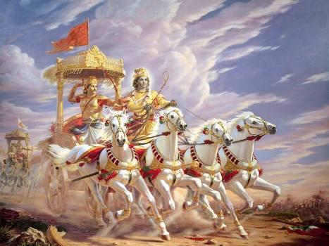 krishna in mahabhart