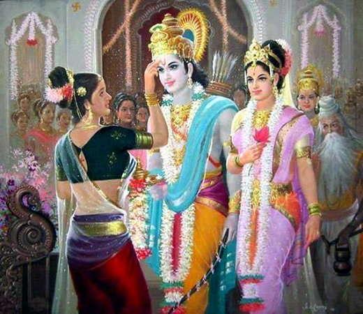Lord Ram & Sita marriage