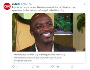 मशहूर रैपर ने खरीद लिया पूरा का पूरा शहर, अपने नाम की करेंसी चलाने का ऐलान