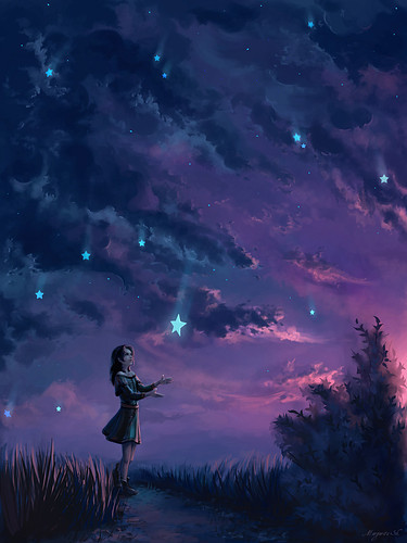 girl,sky,stars,wish,t,hope-44f765efef15798b367dca3527a9ac38_h_large