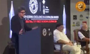 Modi-Shocked-by-Raj-Kamal-Jha-Powerful-Speech