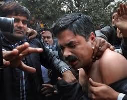 ramdev baba supporters beaten