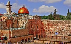 israel-jerusalem-the-flag-of-israel