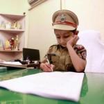 पुलिस अधिकारी बन अपने सपने को पूरा किया इस पांच साल के बच्चे ने