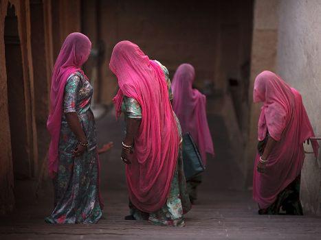 indian village women