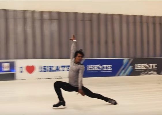 rajkumar ice skating