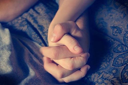 couple hand