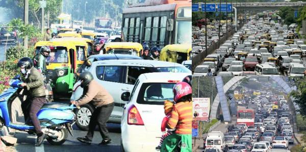 ट्रैफिक जाम से परेशान दिल्ली समेत ये शहर, 1.4 लाख करोड़ का हर साल नुकसान